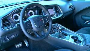 New 2017 Dodge Challenger T/A 392 - Interior - YouTube