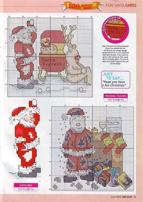 images  cross stitch christmas  winter
