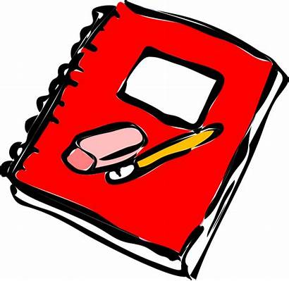 Homework Transparent Clipart Journal Clip Pencil Diary