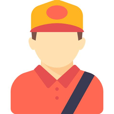 delivery man occupation avatar courier profession