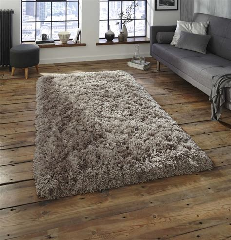 Dicke Teppiche by Nordic Thick Shaggy Soft Rugs Middle Grey Rug