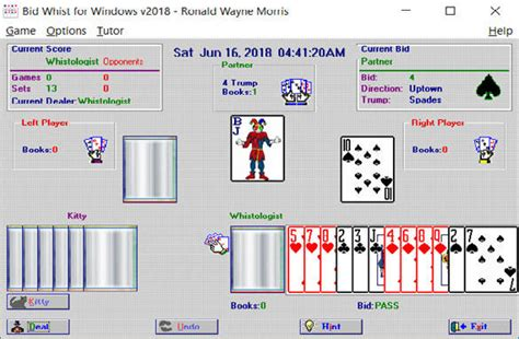 Bid To Win Software Bid Whist For Windows Free And Software Reviews