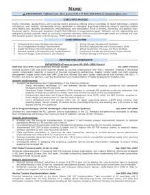 Business Process Design Resume executive resume sles resume prime