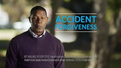 allstate accident forgiveness tv commercial give