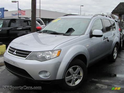 cool ls for sale 2007 mitsubishi outlander ls 4wd in cool silver metallic
