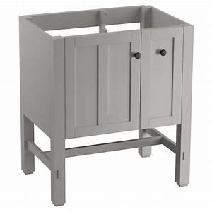 KOHLER Tresham 30 In W Vanity In Mohair Grey With