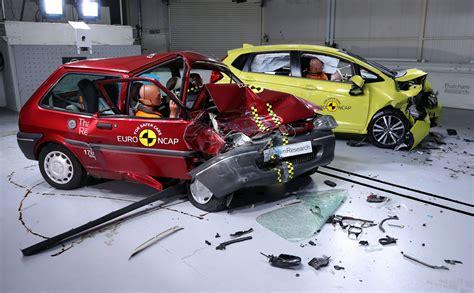 Crash Test by European Safety Scheme Crash Test Shows How Far Car Safety