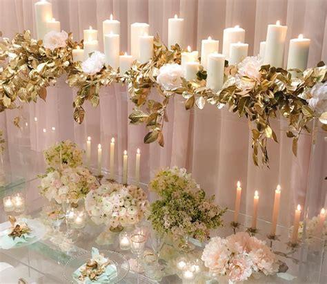 Simple squared #whitelilacinc Romantic wedding decor