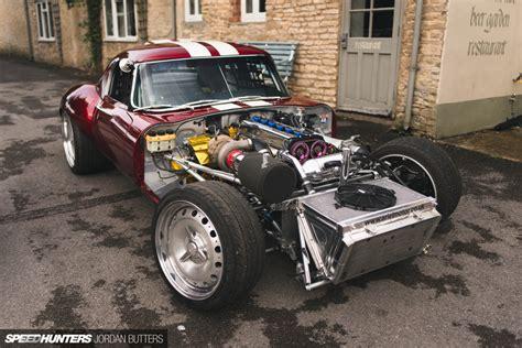 The Jaguar E-type Built To Drift