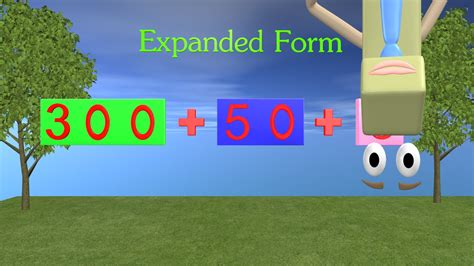 expanded form 1st and 2nd grade math