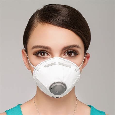 pm respirator dust mask white air breather carbon
