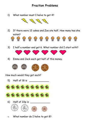 fractions by misskgill teaching resources tes