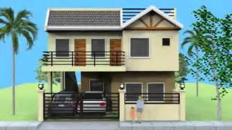 Small Two Storey House Photo small 2 storey house with roofdeck