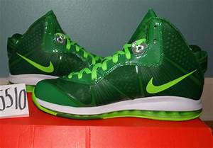 "Nike LeBron 8 ""Victory Green"" Sample on eBay - SneakerNews.com"