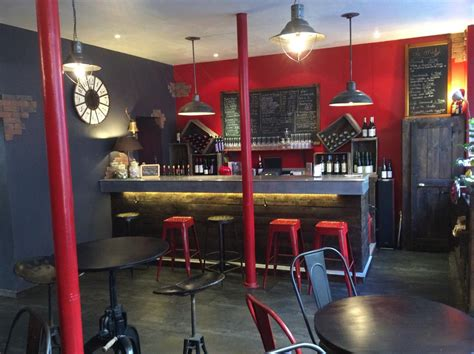 idee decoration bar  vin