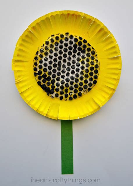 shine kids crafts recycle paper flower kids