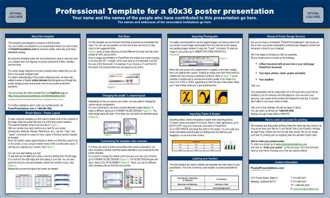 molto powerpoint poster template qn pineglen