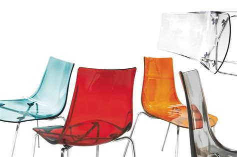 chaise polycarbonate transparente o g division of calligaris spa chair district