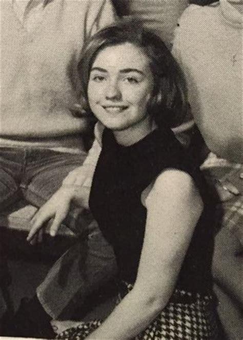 mira como lucia hillary clinton en su juventud fotos