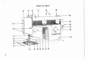New Home Janome 630 Sewing Machine Instruction Manual