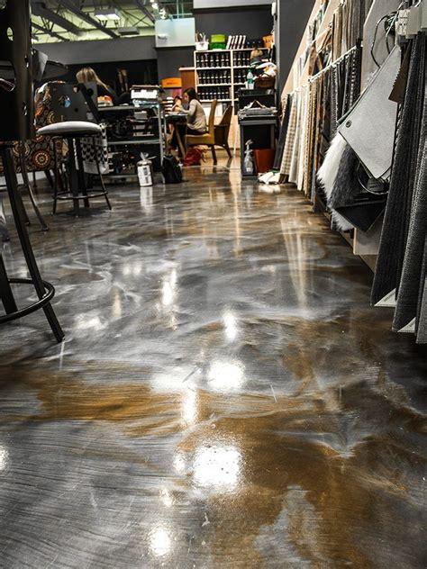 Apoxy Floor - a 3d metallic floor step by step floor