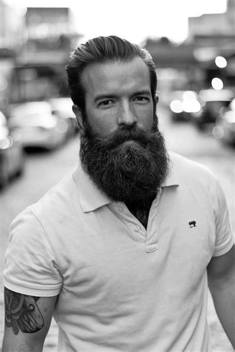hair with beard style la barbe lisse pour un style propre et 233 l 233 gant 1072