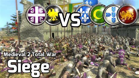 2 total war siege 2 total war battle 203 2vs4 siege