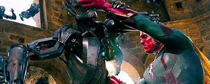 Vision Thor Hulk Spider Iron Vs