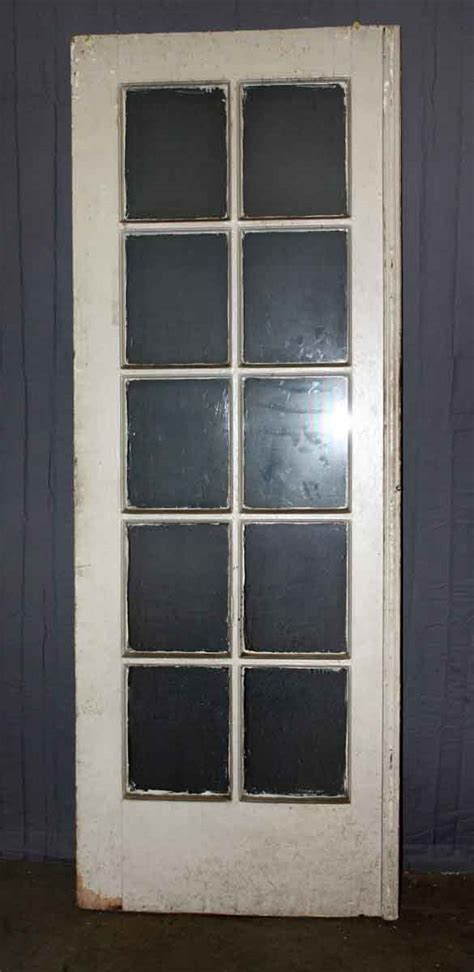 Ten Panel Single French Door  Olde Good Things