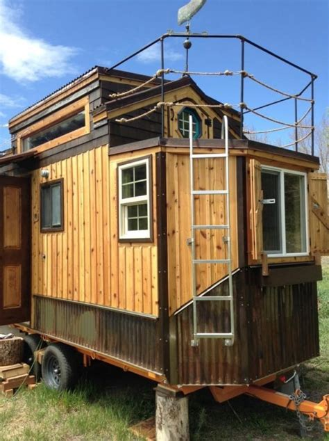 Rooftop Balcony Tiny House For Sale