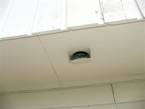 bathroom soffit vent caps why is there toilet paper up there