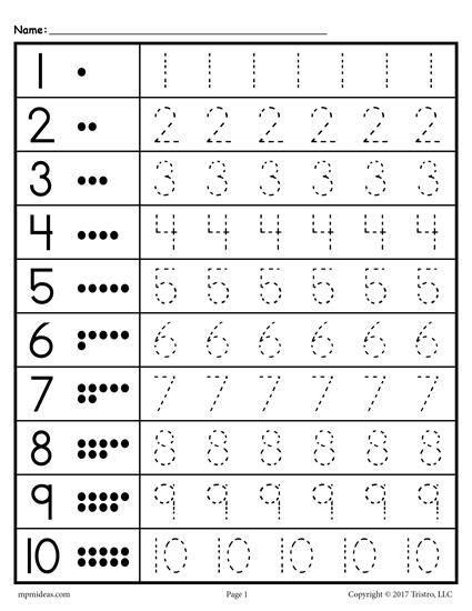 free tracing worksheets numbers 1 20 worksheets