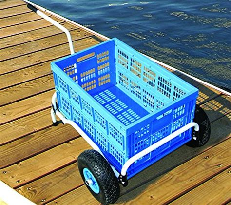 Folding Boat Dock Cart cart it folding collapsible utility cart dock boat
