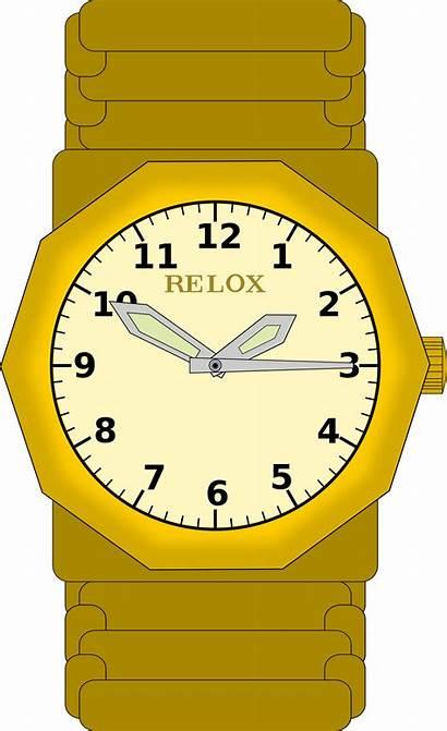 Reloj Clipart Gold Analog Oro Pulsera Transparent