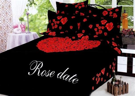 artistic concepts  valentines day bedding curtains