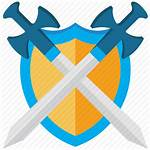 Icon Swords Shield Icons Guard Security Crossed