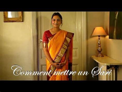 de cuisine indienne comment mettre un sari ou saree indien