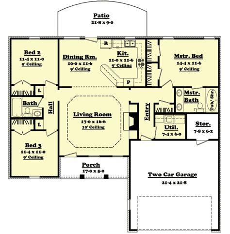 split level ranch floor plans architectural designs