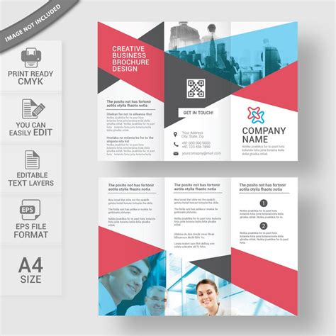 Brochure Templates 100 Brochures For Pages Brochure Tri Fold Brochure Template Free Print Ready