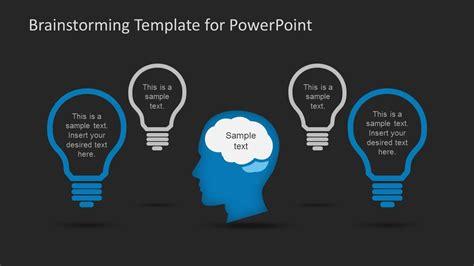 brainstorming ideas record  design  powerpoint