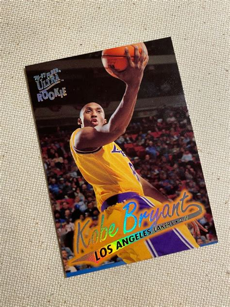 The fact that this card exists is hilarious. Kobe Bryant Rookie Card 1996-1997 Fleer Ultra #52 ...