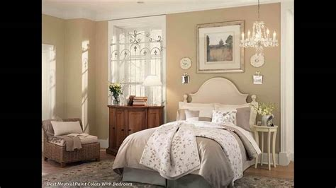 19 Bedrooms With Neutral Palettes : Interior Neutral Paint Colors