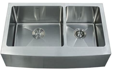 cheap double kitchen sink buy best cheap kraus khf203 33 33 inch farmhouse apron 70