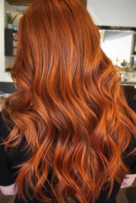 find  copper hair shade   work   image