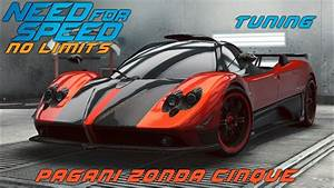 Need For Speed No Limits Pagani Zonda Cinque Tuning