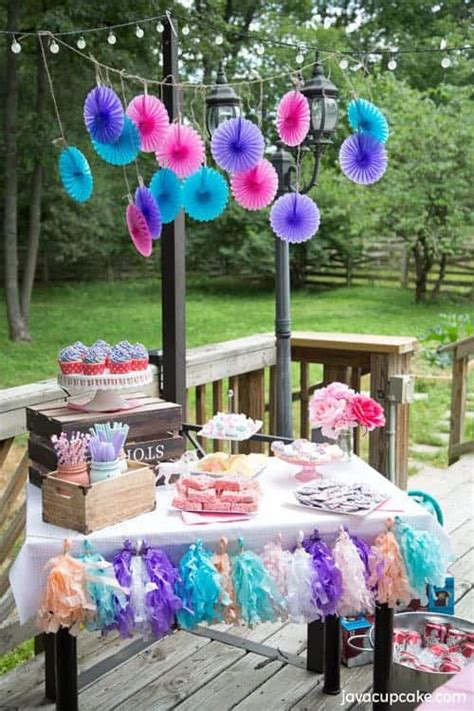 backyard unicorn party javacupcake