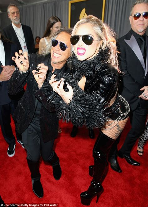 Grammys 2017: Braless Lady Gaga flashes flesh in crop-top ...