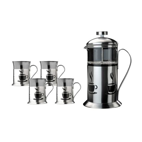 Shop Berghoff 4cup Stainless Steel French Press At Lowescom