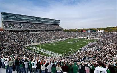 Michigan State University Football Stadium Penn Background