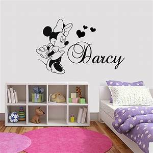pinterest o the worlds catalog of ideas With enchanting minnie mouse decals for walls